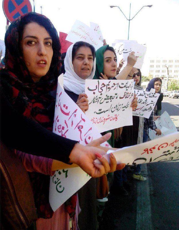 نرگس محمدی از زندان زنجان: اگر آزاد بودم باز هم علیه زنستیزیها اعتراض میکردم