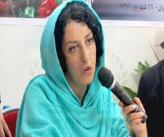 اعلام حمایت نرگس محمدی از اعتصاب غذای نازنین زاغری و همسر وی