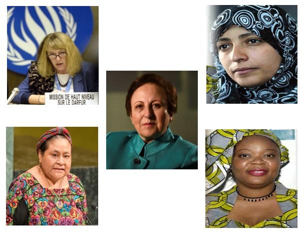 برندگان جایزه صلح نوبل خواستار پایان دادن به کشتار، دستگیری ها و رفع محدودیت کامل اینترنت شدند.