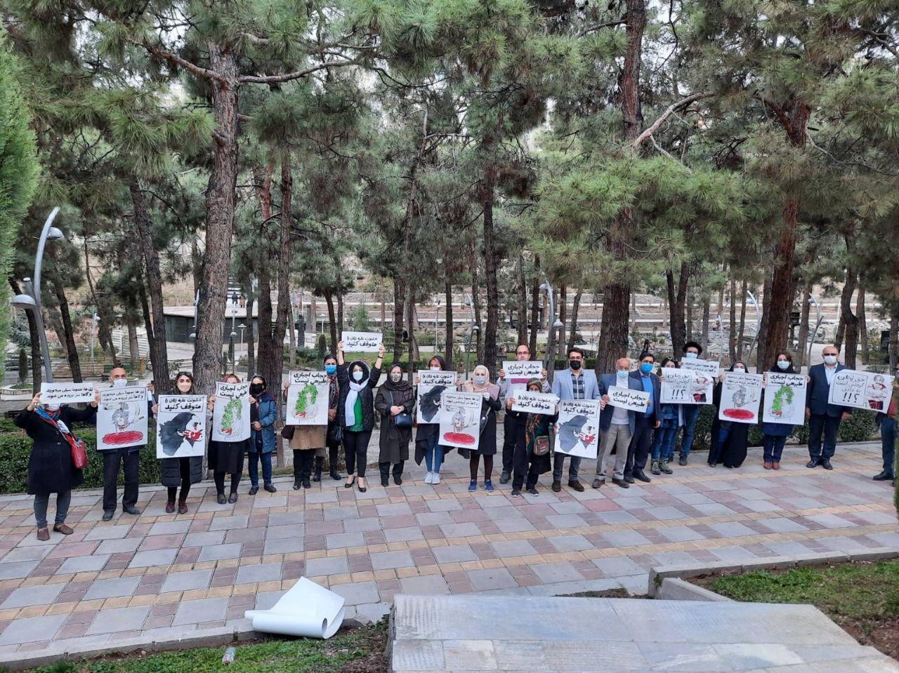 تجمع اعتراضی ۸ مارس با وجود شرایط امنیتی: خشونت و تبعیض علیه زنان را متوقف کنید