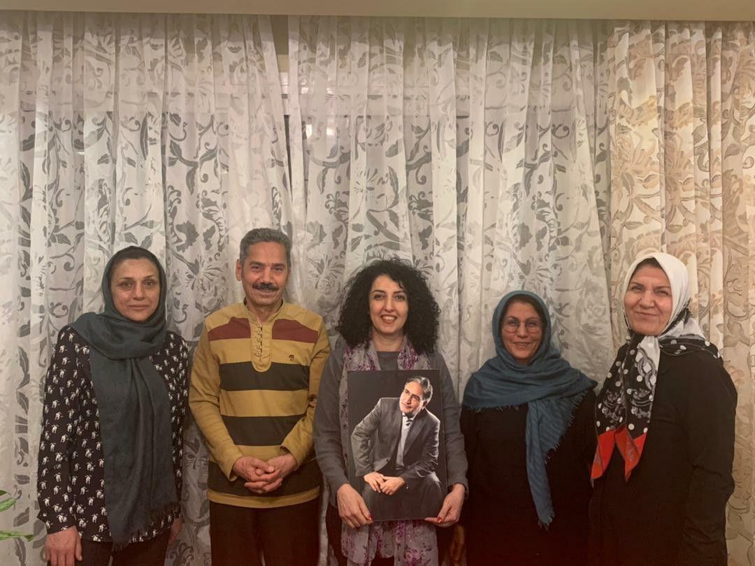 نگرانی از تداوم حبس ظالمانه و آسیبهای جسمی: ملاقات فعالان حقوق بشر با خانواده محمد نوریزاد