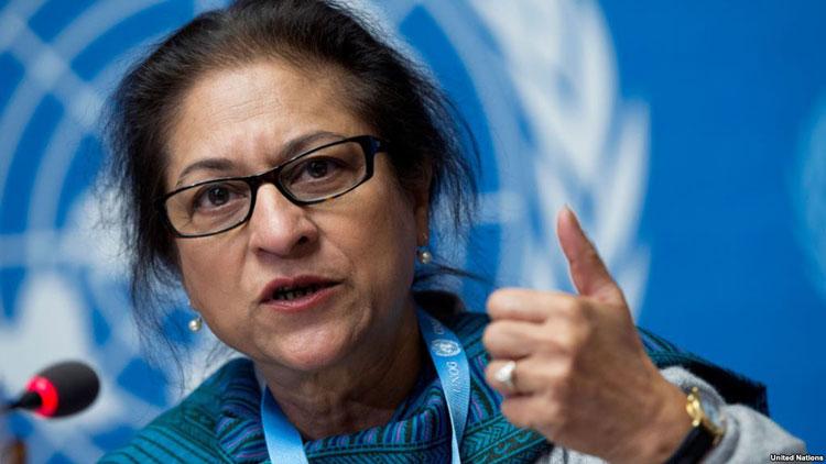 اسماء جهانگیر، گزارشگر حقوق بشر سازمان ملل در امور ایران درگذشت